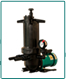 Self-priming filter pump