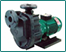 Valveless self-priming magnet drive pump