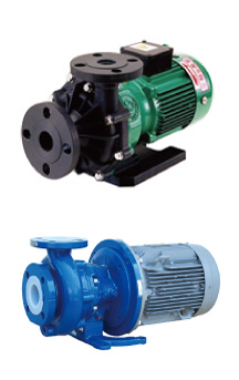 Sealless magnetic drive pump  GS / GSF