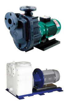 Valveless self-priming magnet drive pump  GV / GVF