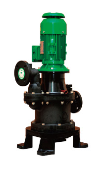 Vertical valveless  self-priming pump   NSF