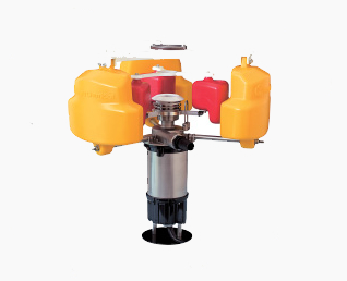Floating oil collecting flaot pump GYP